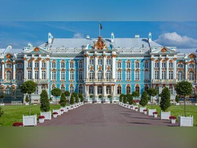 Пушкин (Екатерининский парк, Дворец и Янтарная комната) в Санкт-Петербурге, 29 ноября 2020 г., Троицкий